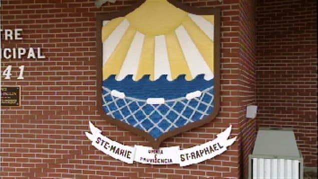L'édifice municipal de Ste-Marie-St-Raphael