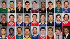 L'équipe canadienne de hockey masculine à Sotchi