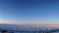 Le fleuve glacé vu de Matane
