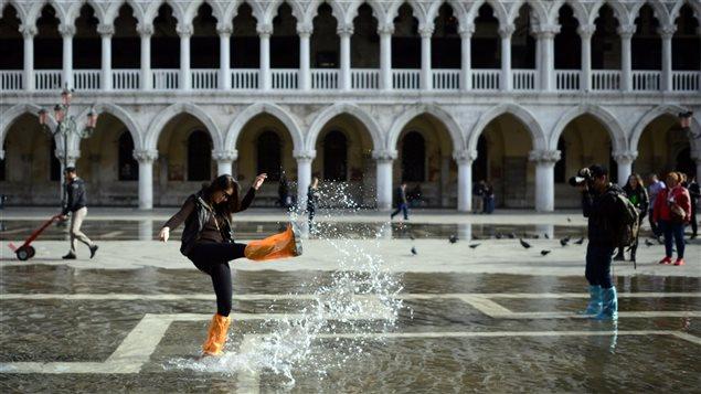Un couple à Venise