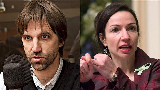 Steven Guilbeault et Martine Ouellet