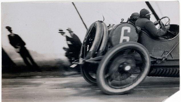 Grand Prix de l'A.C.F., prise en 1912 par le français Jacques-Henri Lartigue