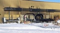 La station de pompage Rowatt a été aspergée de pétrole samedi quand une fuite d'environ 125 barils s'est produite.