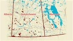Près de 80 % des 145 000 hectares de pâturages communautaires transférés par le fédéral sont en Saskatchewan.