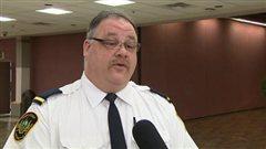Luc Durand du Service des incendies de Saskatoon