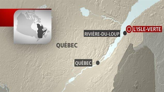 La municipalité de L'Isle-Verte est située à une trentaine de kilomètres au nord-est de Rivière-du-Loup, sur la Rive-Sud du fleuve Saint-Laurent et au nord de la ville de Québec.