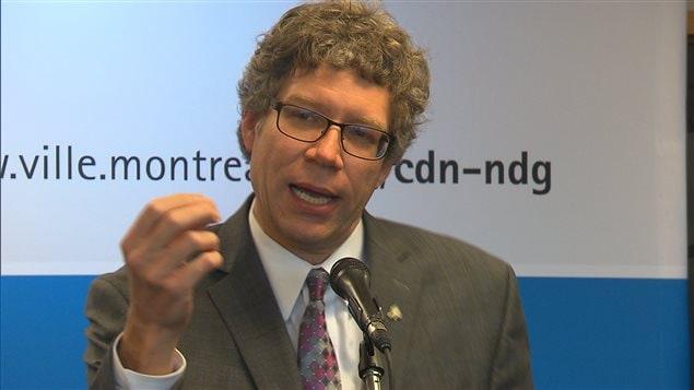 Russell Copeman, maire de l'arrondissement Côte-des-Neiges—Notre-Dame-de-Grâce
