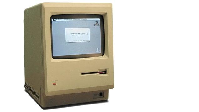 Le Macintosh 128K, tout premier ordinateur d'Apple