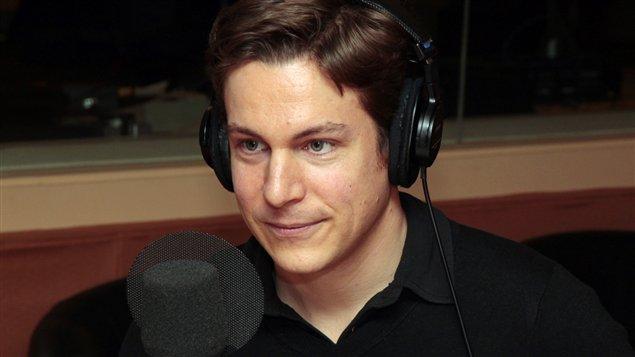 Le compositeur Maxime Goulet