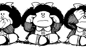 Mafalda, l'héroïne créée par Quino, fête ses 50 ans.