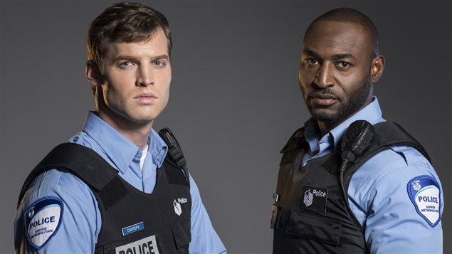 Ben Chartier et Nick Barron, les deux policiers de la version anglophone de <em>19-2</em>, diffusée sur Bravo