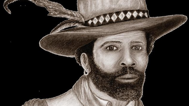 Mathieu da Costa arriva au Canada autour de 1603.
