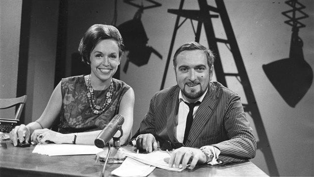 Michèle Tisseyre et Jacques Languirand, Aujourd'hui, 1963
