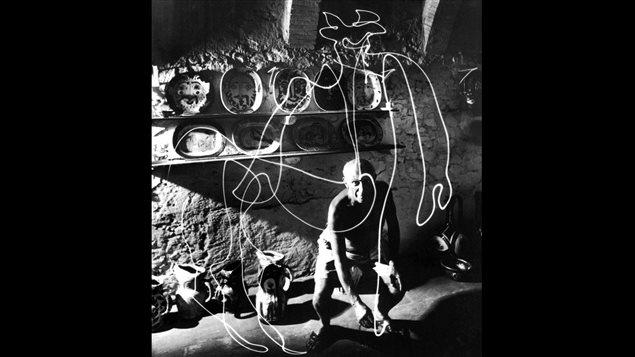 <em>Picasso draw a centaur</em>