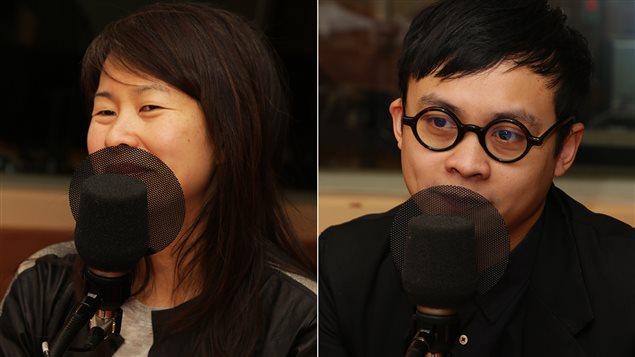 Kim Thúy et Khoa Lê