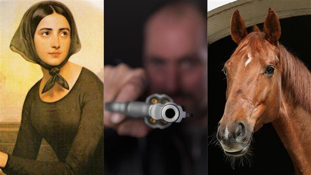 Une jeune femme, un tueur et un cheval