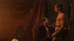 Couple formé au début du 20e siècle par  Sergei Diaghilev et Vaslav Nijinsky, respectivement fondateur et danseur des Ballets Russes.