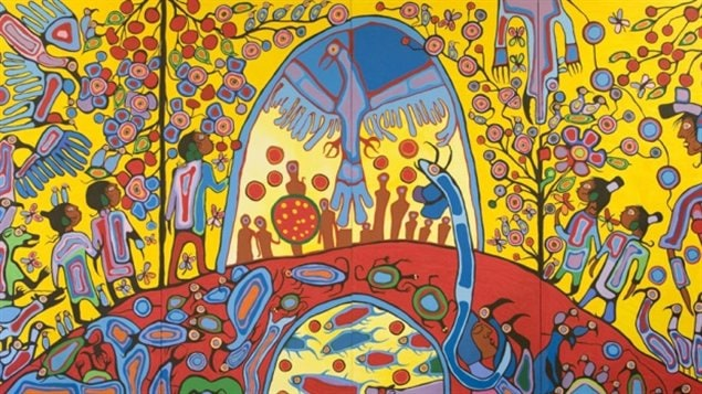 Norval Morrisseau's paintings allegedly at the centre of a ... | 635 x 357 jpeg 96kB