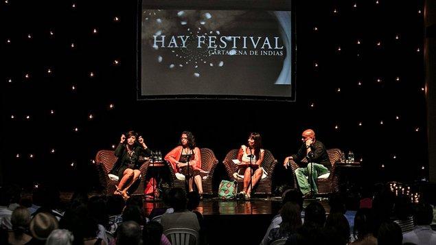 Hay Festival de Cartagena de Indias, Colombia.