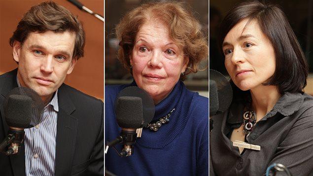 Bruno Marchand, Dre Suzanne Lamarre et Laure Waridel