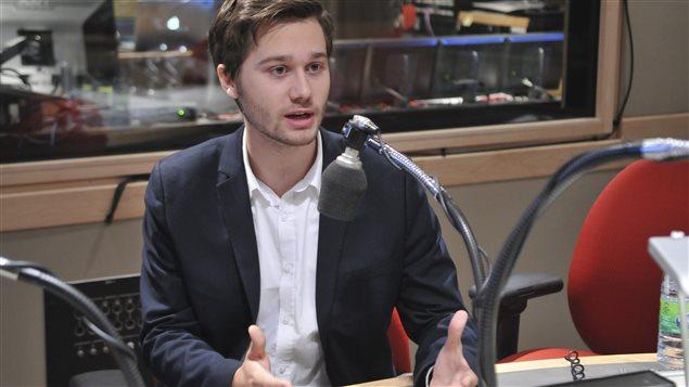 Léo Bureau-Blouin à l'émission C'est pas trop tôt