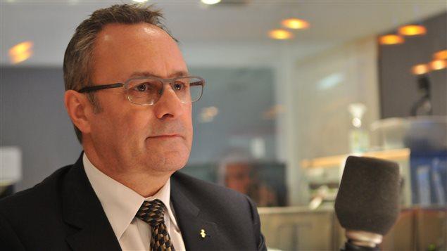 Le président de la Fédération des travailleurs du Québec, Daniel Boyer.