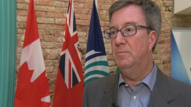Le maire d'Ottawa, Jim Watson.