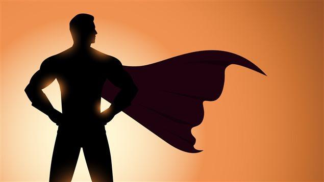 Un dessin de Superman