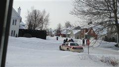 L'arrestation d'un des deux suspects à Trois-Rivières Ouest