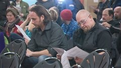 Une centaine d'employés du Massif ont participé au vote mardi soir.