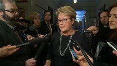 La première ministre Pauline Marois, à Québec, le 12 février