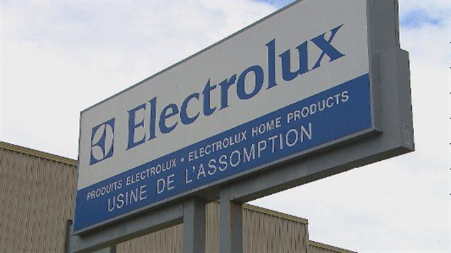 L'usine Electrolux de l'Assomption fermera le 18 juillet.