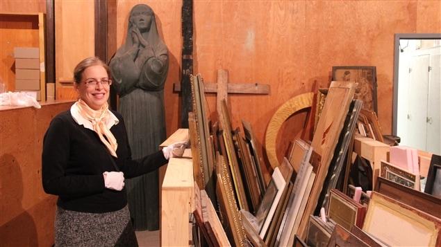 Chantal Turbide, conservatrice du musée et du patrimoine artistique de l'Oratoire St-Joseph