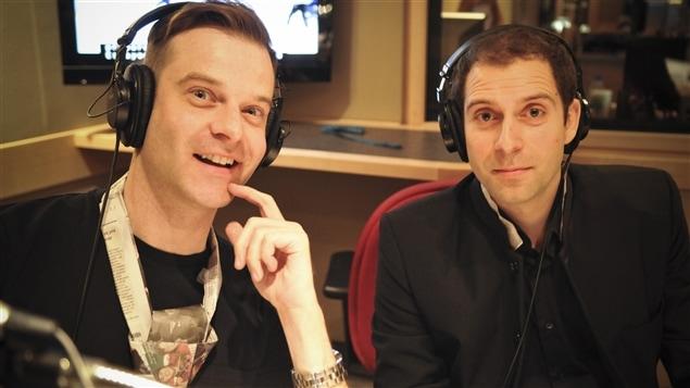 Stéphane Leclair et Thomas Gerbet