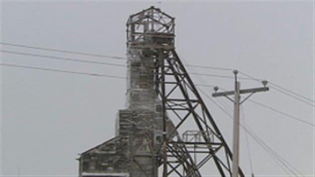 La mine Giant à Yellowknife dans les Territoires du Nord-Ouest