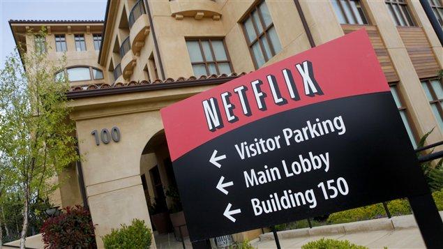 Le quartier général de Netflix à Los Gatos, Californie