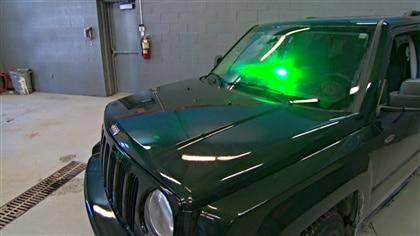 Gyrophare vert pompier
