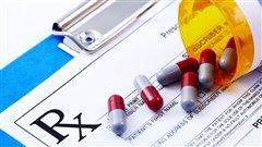 Overdose avec médicaments sur ordonnance dans les TNO