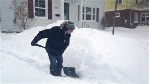 Un demi-mètre de neige prévu par endroit au Nouveau-Brunswick