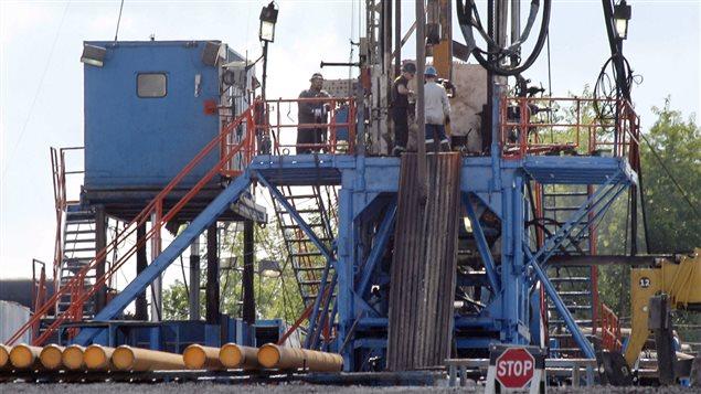 Forage de gaz de schiste aux États-Unis