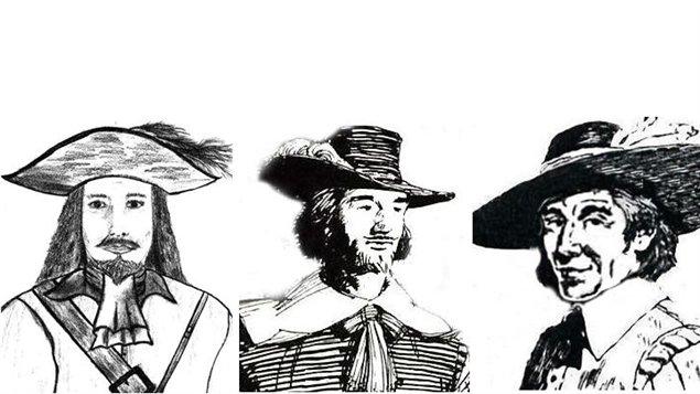 Pierre Gagnon, Jean Gagnon et Mathurin Gagnon