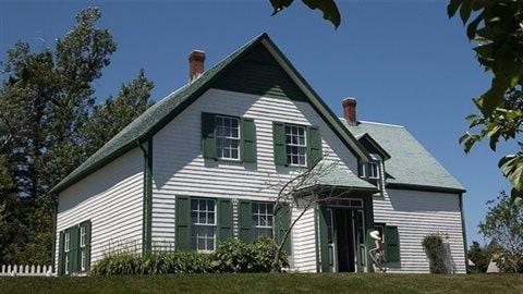 La maison aux pignons verts du personnage de Lucy Maud Montgomery