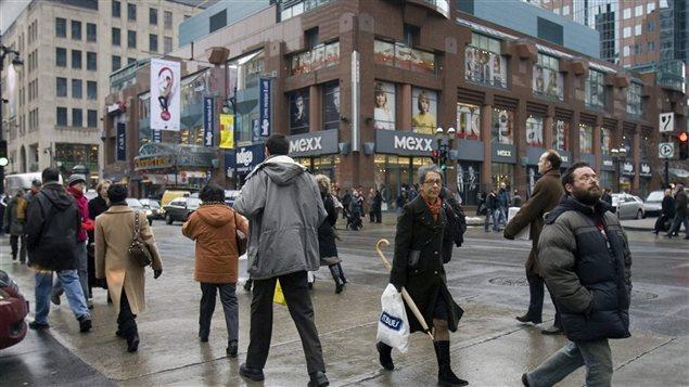 Le centre-ville de Montréal (archives).