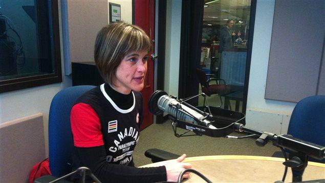 Caroline Bisson, ski de fond et de biathlon aux Jeux paralympiques de Sotchi