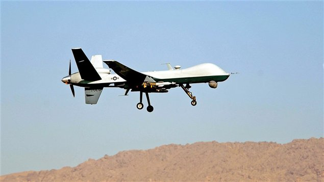 Le « Reaper», un drone militaire de l'Armée américaine.
