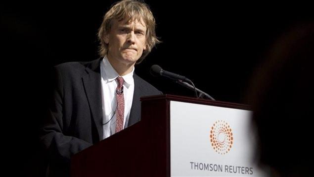 Le magnat de la presse David Thomson