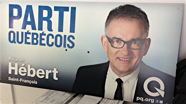 Le candidat défait dans Saint-François, Réjean Hébert