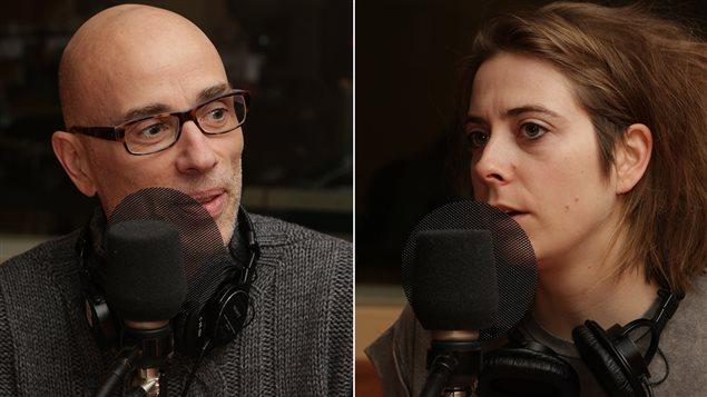 James Hyndman et Ève Landry,