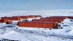 La station des Forces canadiennes Alert au Nunavut