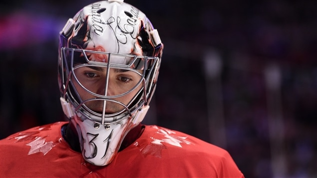 Carey Price à Sotchi